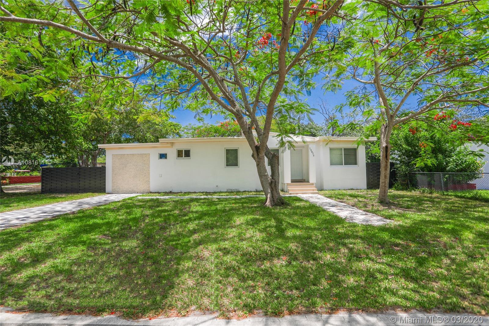 13875 NE 16th Ave  For Sale A10816111, FL