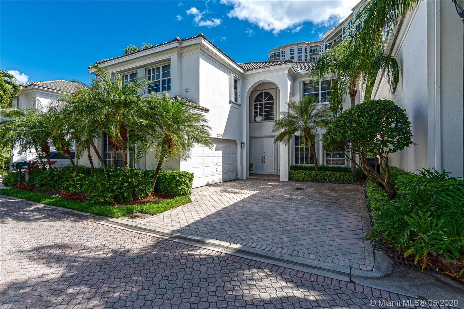 Don't miss the opportunity to live in a Prestigious Gated Community in the Heart of Aventura. This spectacular Country Club estate spacious home of|3.5 baths|4 bedrooms| with an excellent floor plan and distribution , a lot of natural light, includes an office in the second floor, a complete enclosed area for washer and dryer amazing backyard, with a built in BBQ and pool. Master Bathroom recently remodeled. Formal Living and Dining Room, plus family room.