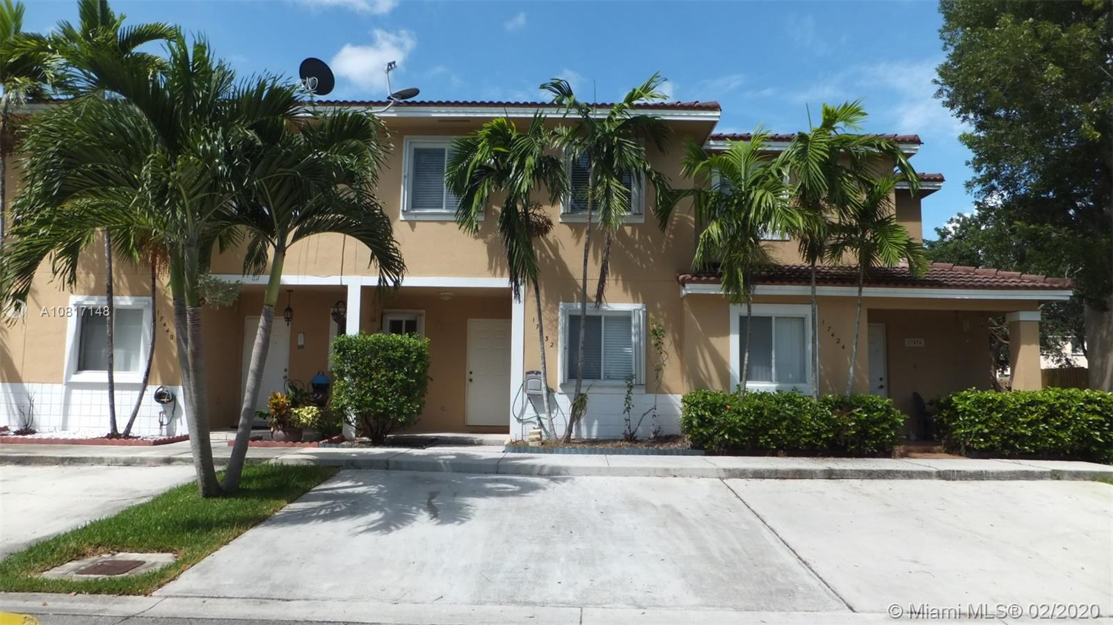 17432 SW 140th Court  For Sale A10817148, FL