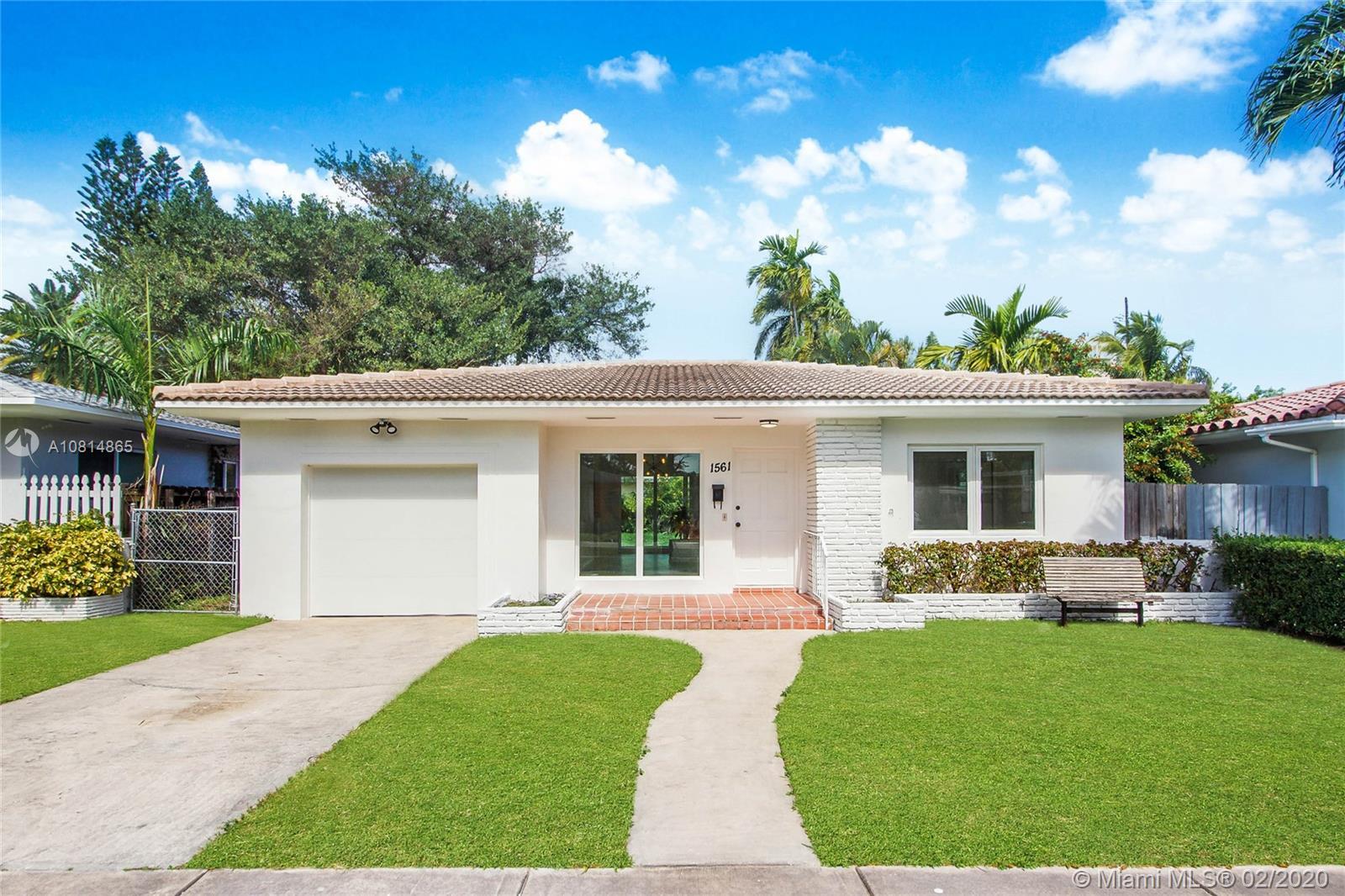 1561 NE 110th St  For Sale A10814865, FL