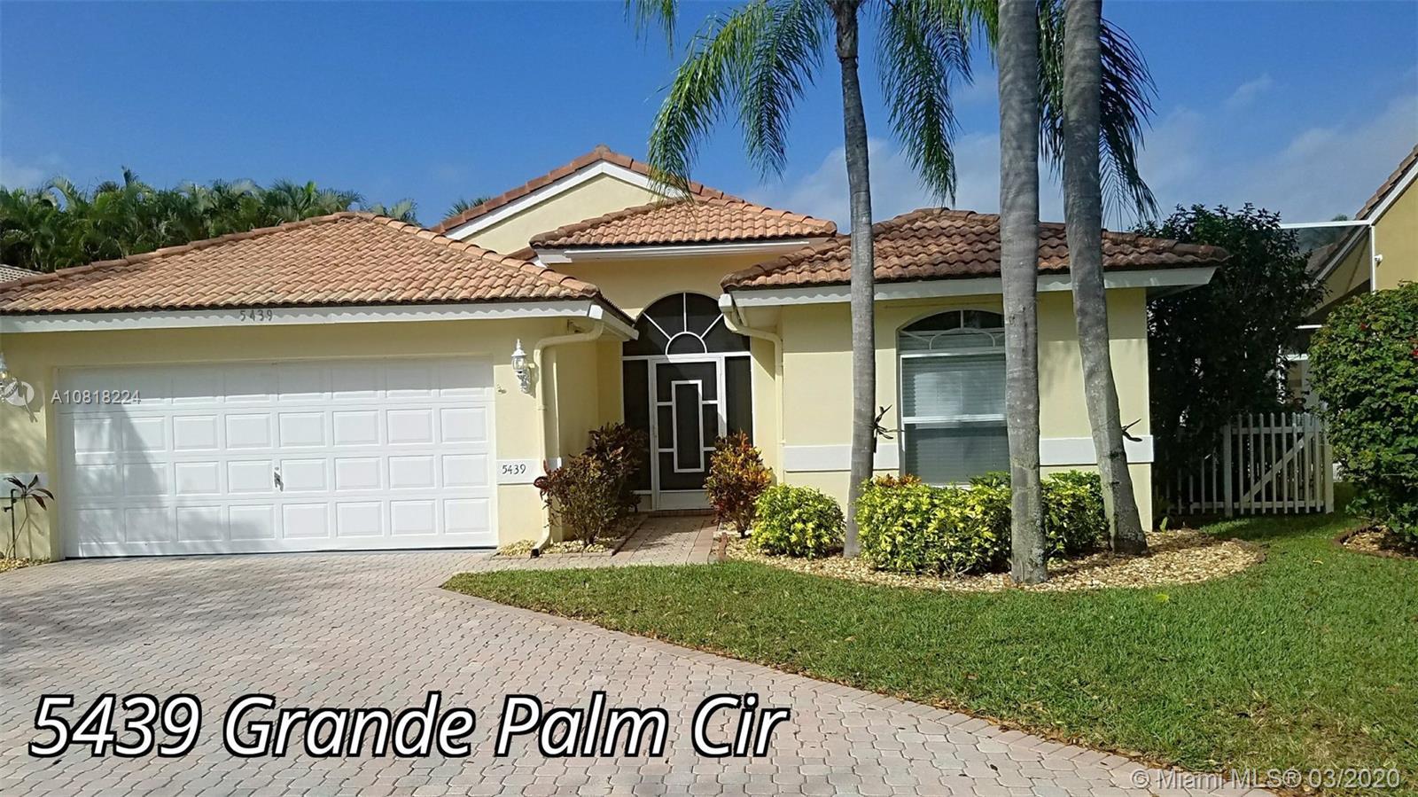 5439 Grande Palm Cir, Delray Beach, FL 33484