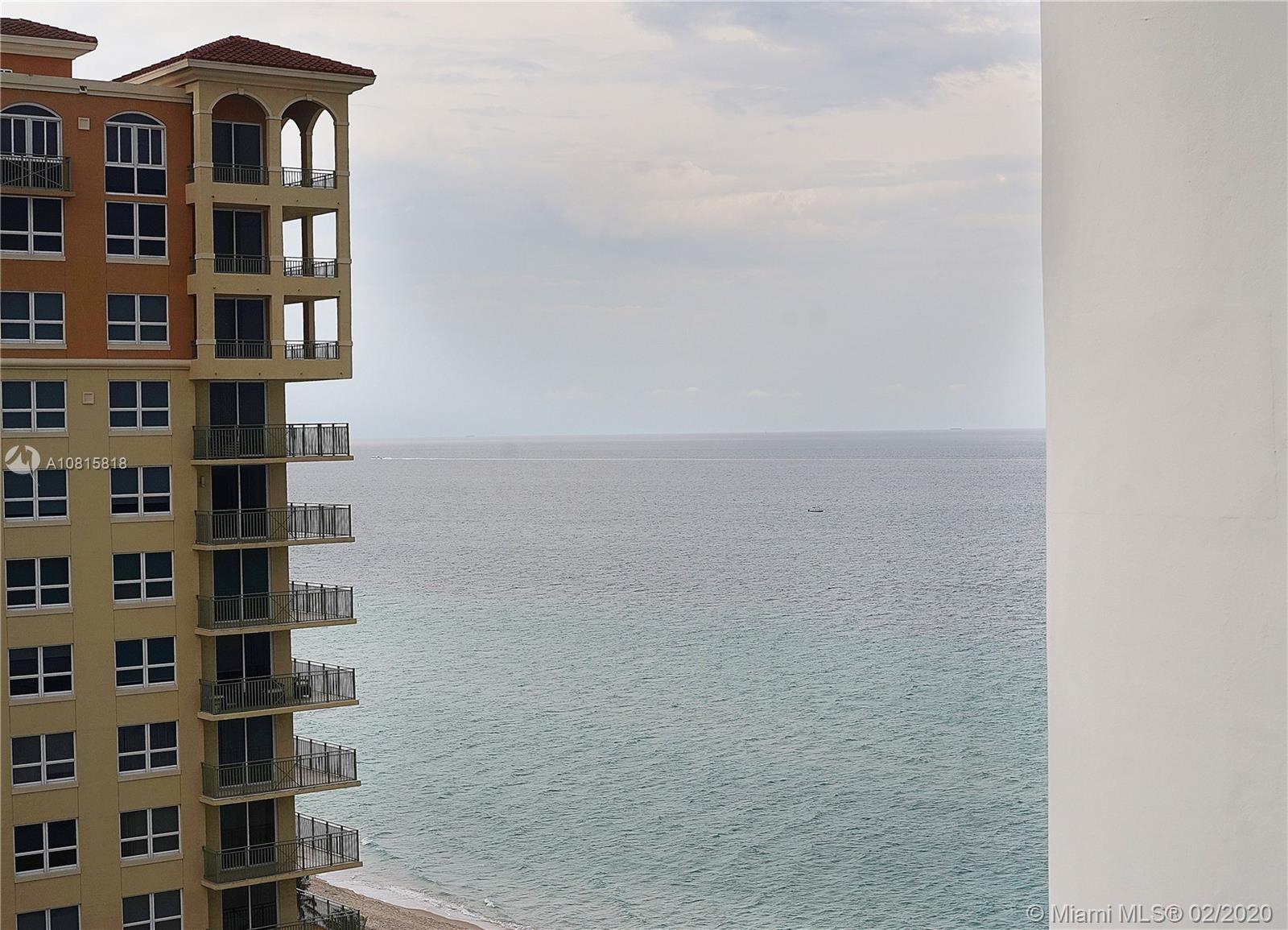 3140 S Ocean Drive #1607 For Sale A10815818, FL