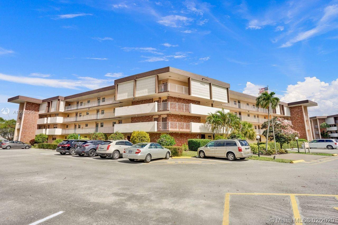 SPACIOUS MOVE IN UNIT WITH RESORT LIKE FEEL. UPDATED KITCHEN AND BATH WITH TILE THOUGHOUT. LOVELY FURNISHINGS ENHANCE THIS SPACE. STEPS FROM ONE OF THE 3 COMMUNITY POOLS, AND ACTIVE CLUBHOUSE. LOW MAINTENANCE FEE FOR WELL RUN BUILDING. CLOSE TO BEACH, HOSPITAL AND MANY TOURIST SPOTS ALSO. 55+ COMMUNITY