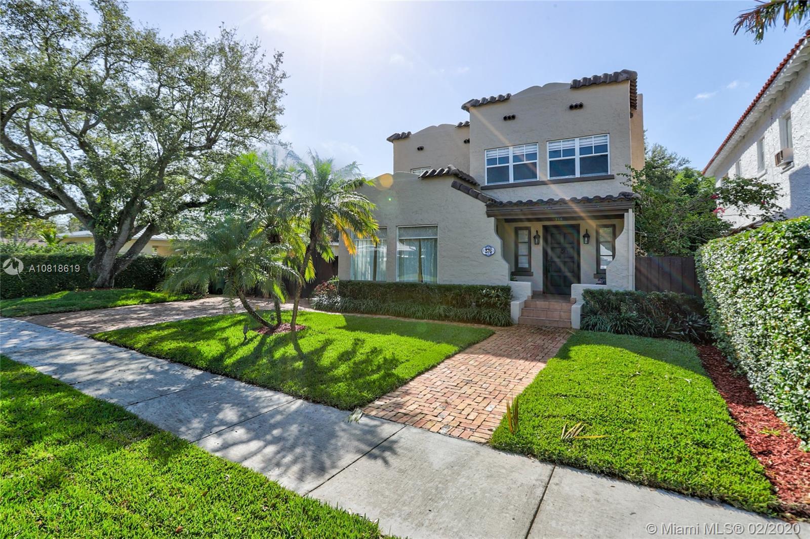 376 NE 90th St  For Sale A10818619, FL