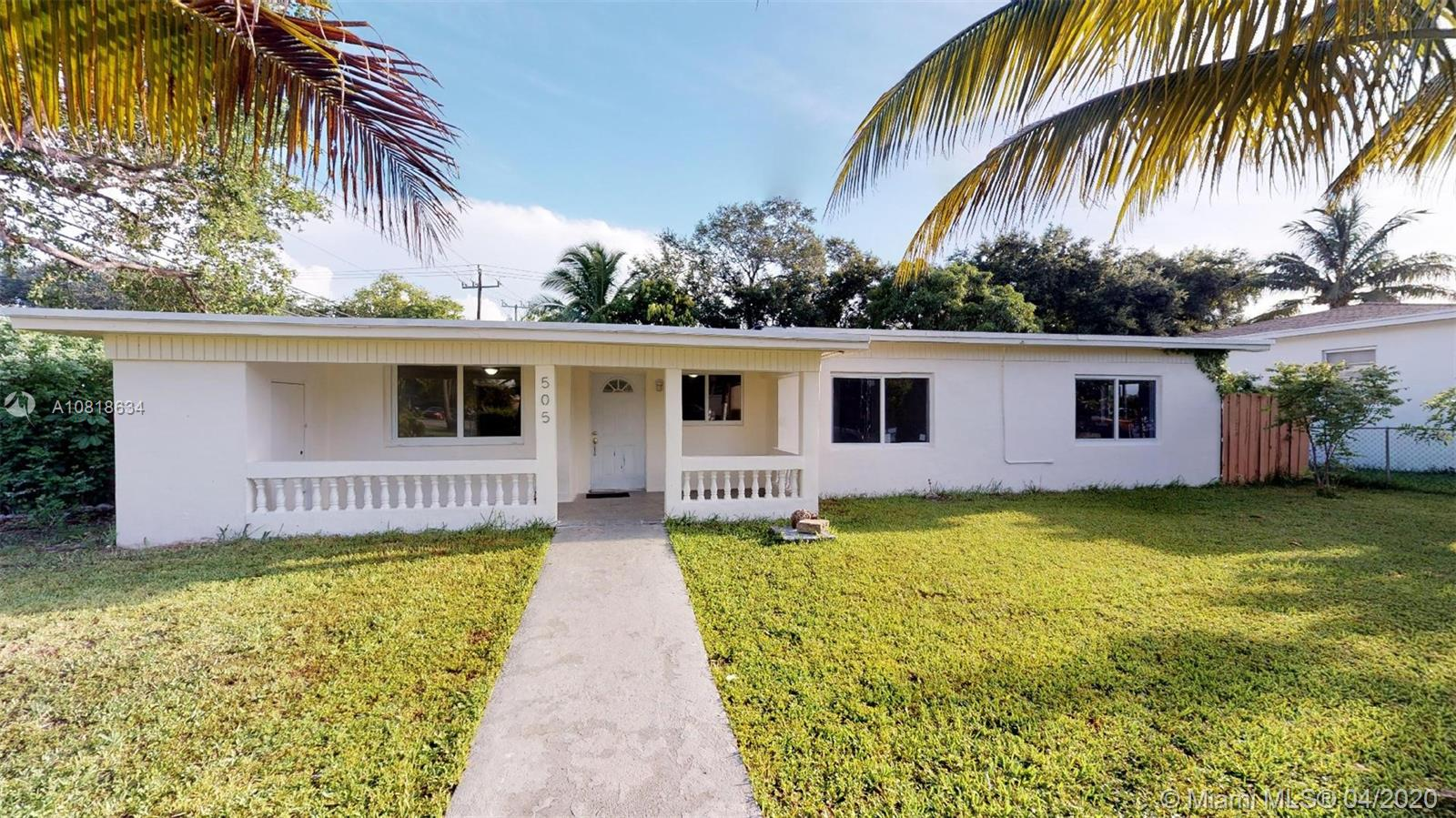505 NE 140th St  For Sale A10818634, FL