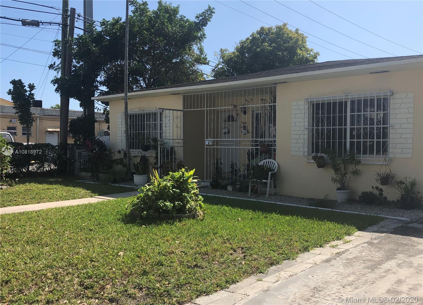 720 NW 132nd St  For Sale A10818972, FL