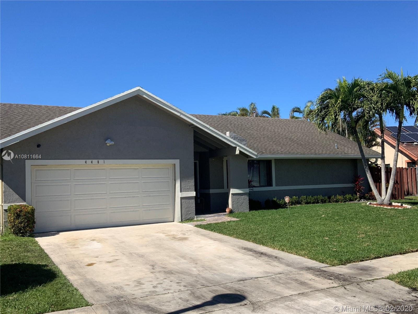 Large 3 Bed/2Bath, 2 car garage, high ceilings, split Bedroom plan, wood and granite kitchen, tile and wood floors. Great home for families or any buyer.  Spacious back yard. Lovely well maintained community.  Convenient to major highways.   Tenant Occupied.