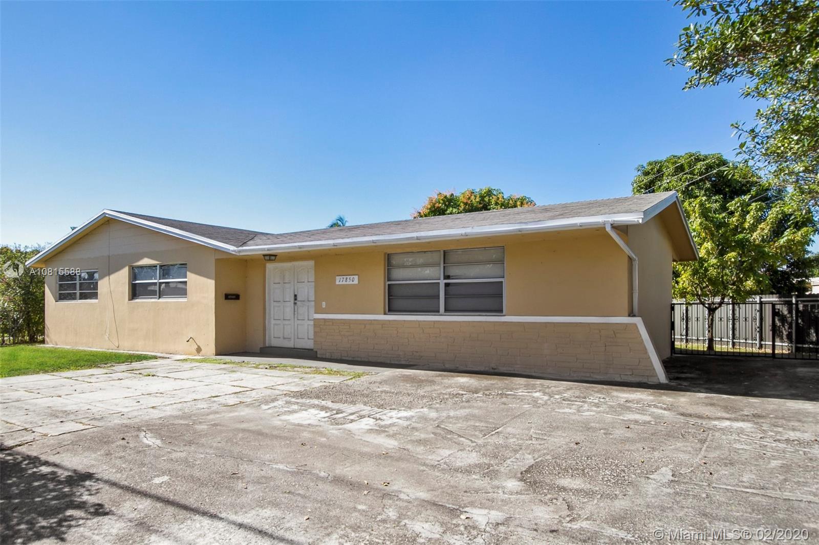 17850 NE 6th Ave  For Sale A10815588, FL