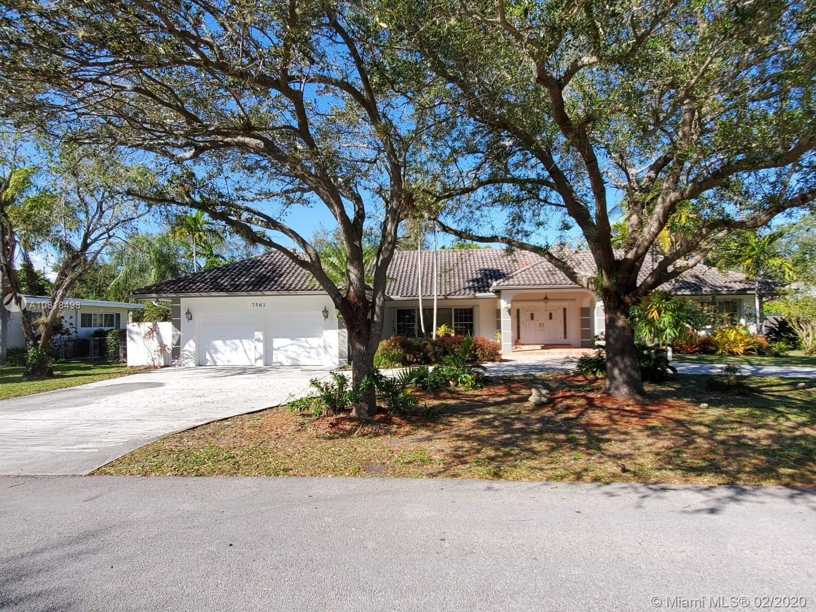 7561 SW 138th St  For Sale A10818498, FL
