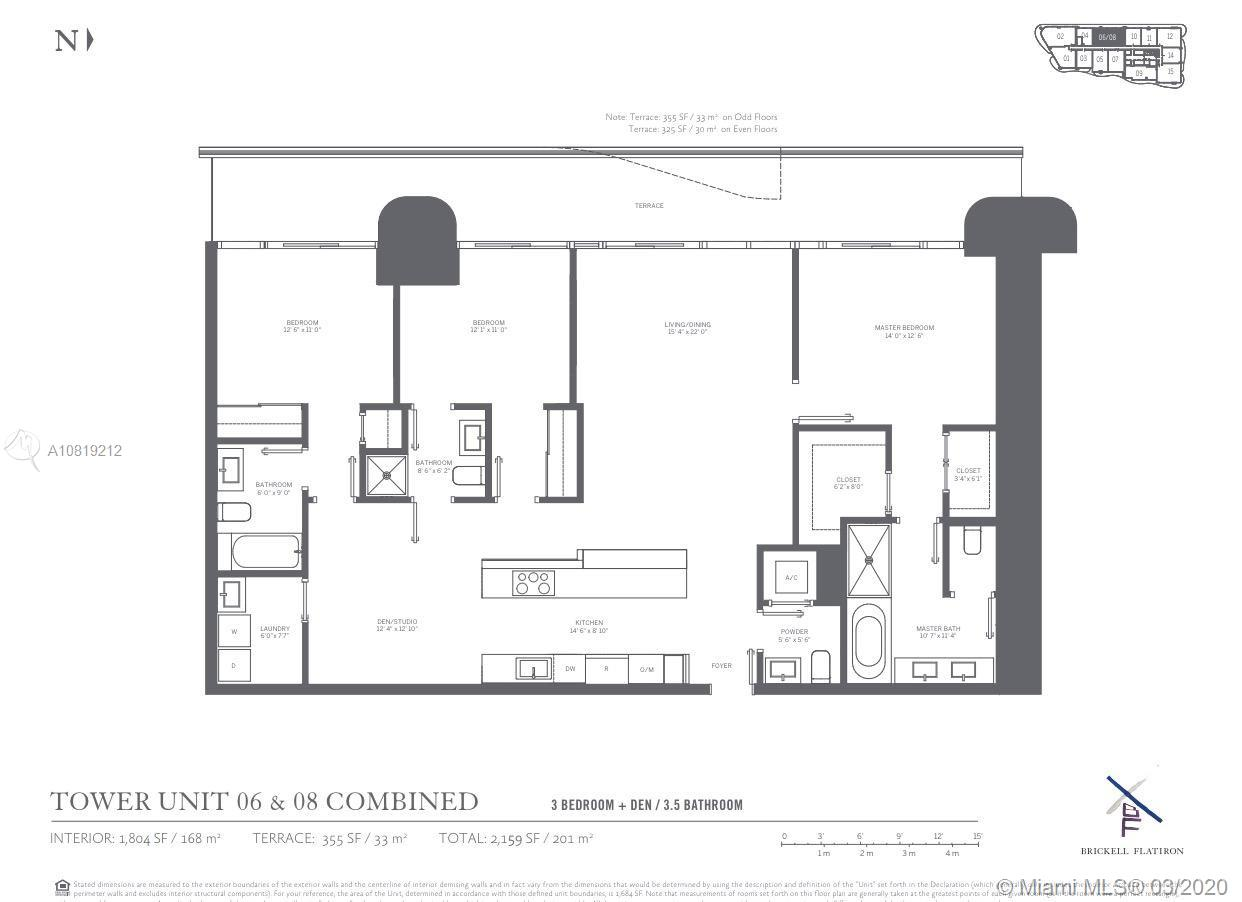 1000  Brickell Plaza #4506 For Sale A10819212, FL