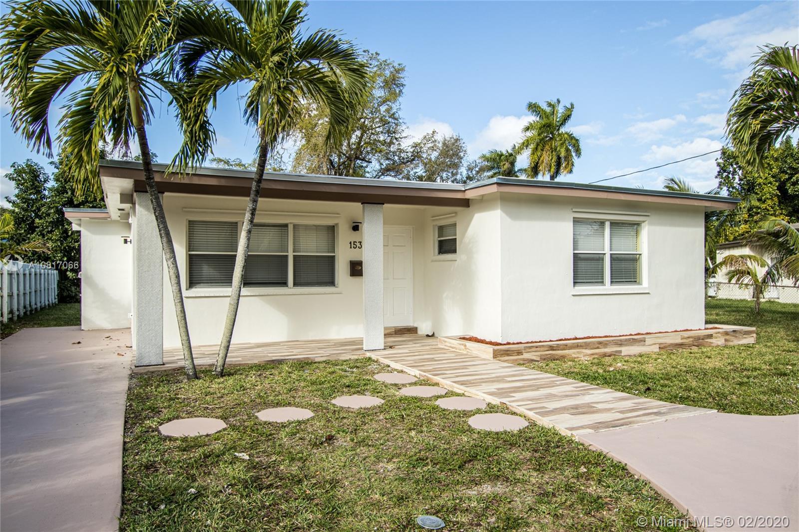153 NE 150th St  For Sale A10817066, FL