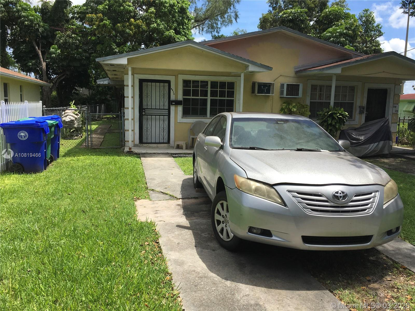 4811 NW 15th Ave  For Sale A10819466, FL