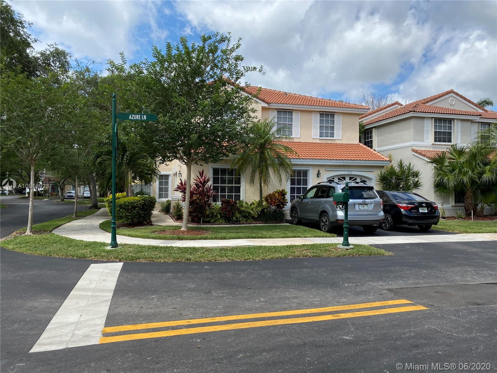 972  Azure Ln  For Sale A10818923, FL