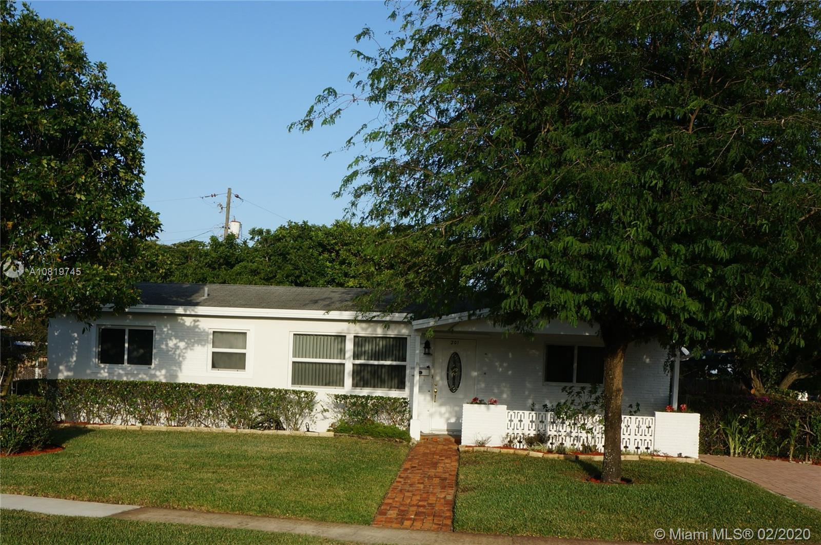 201 N 69th Way  For Sale A10819745, FL