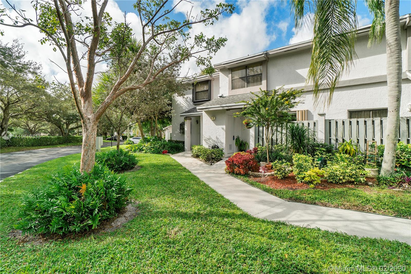 Welcome to Coconut Creek, The Township. Come see this well maintained 2 bed 2.5 bath townhouse. A screened in patio allows you to enjoy all the nature this beautiful community has to offer. This community offers multiple pools, basketball, tennis, racket ball, nature trails, weight room and so much more. This community is also dog friendly!