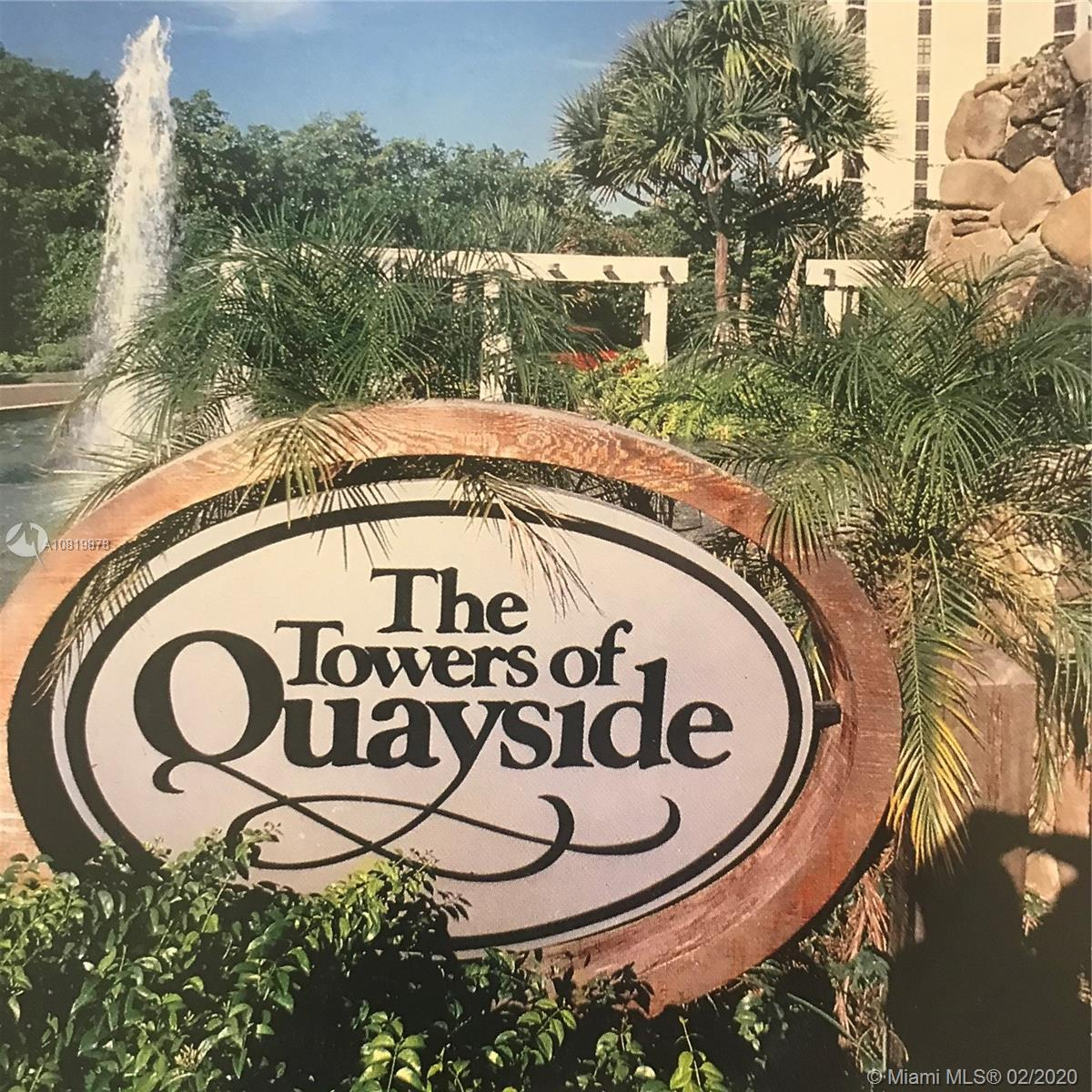 1000  Quayside Ter #1409 For Sale A10819878, FL