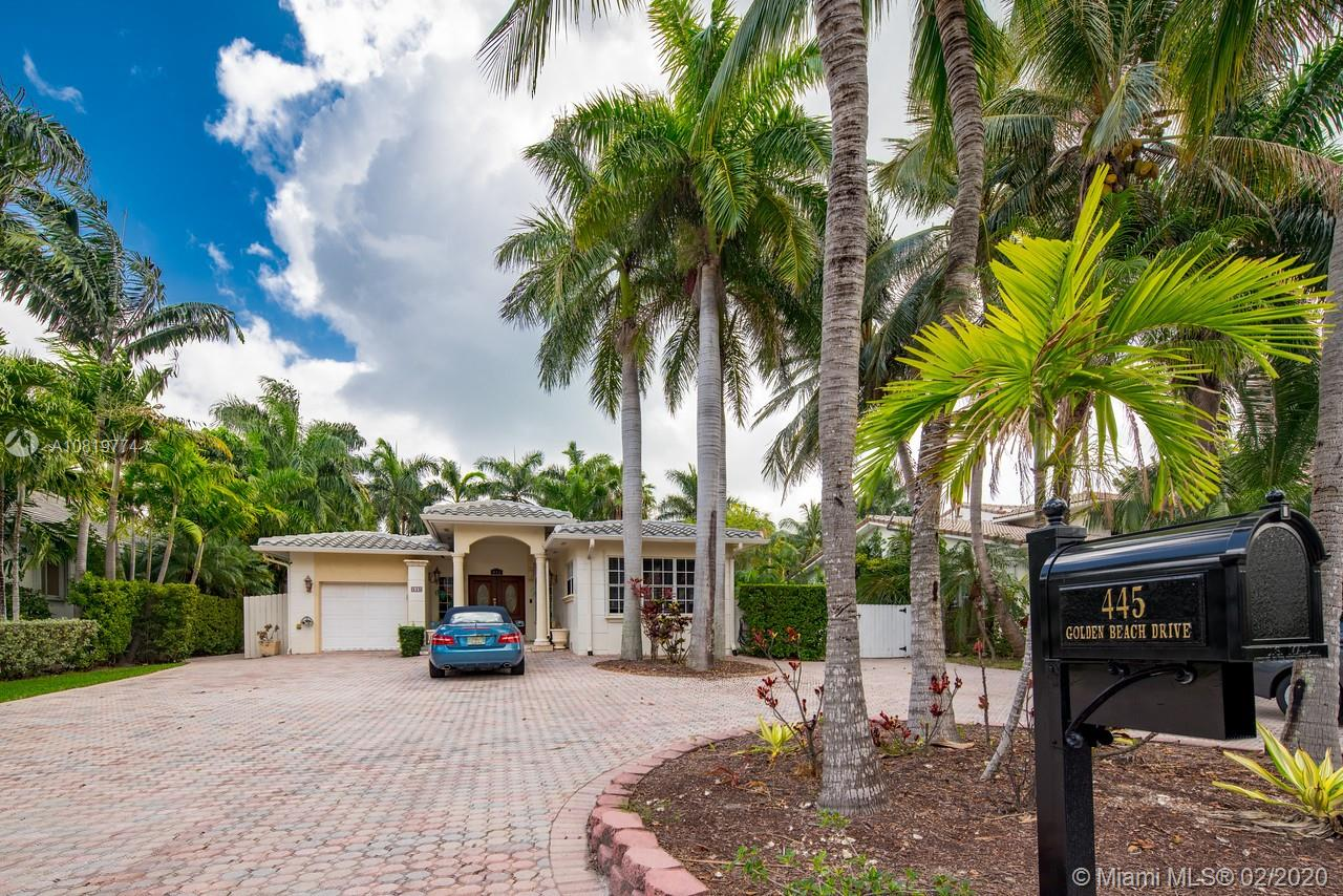 445  Golden Beach Dr  For Sale A10819774, FL