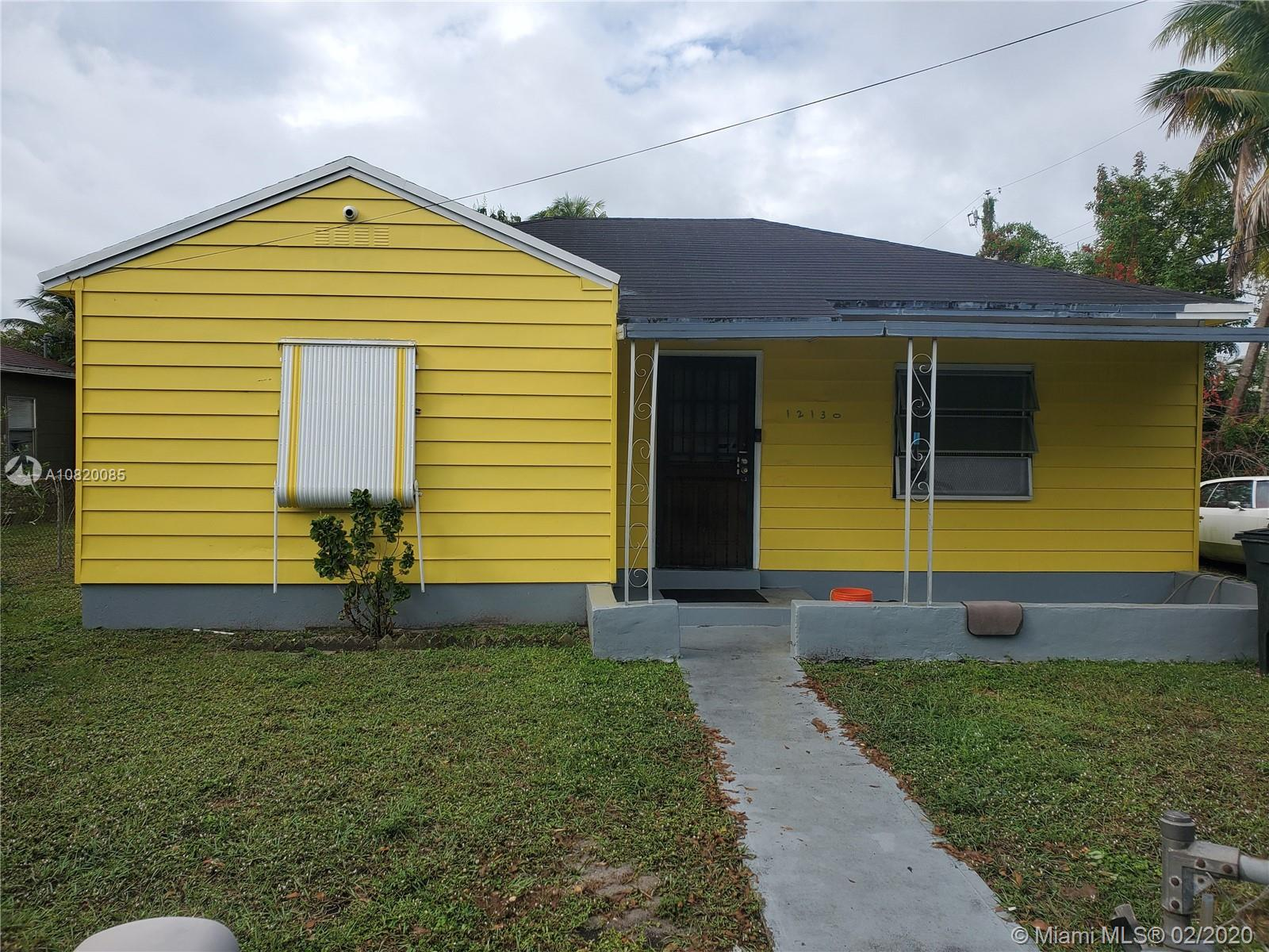 12130 NW 8th Ave  For Sale A10820085, FL