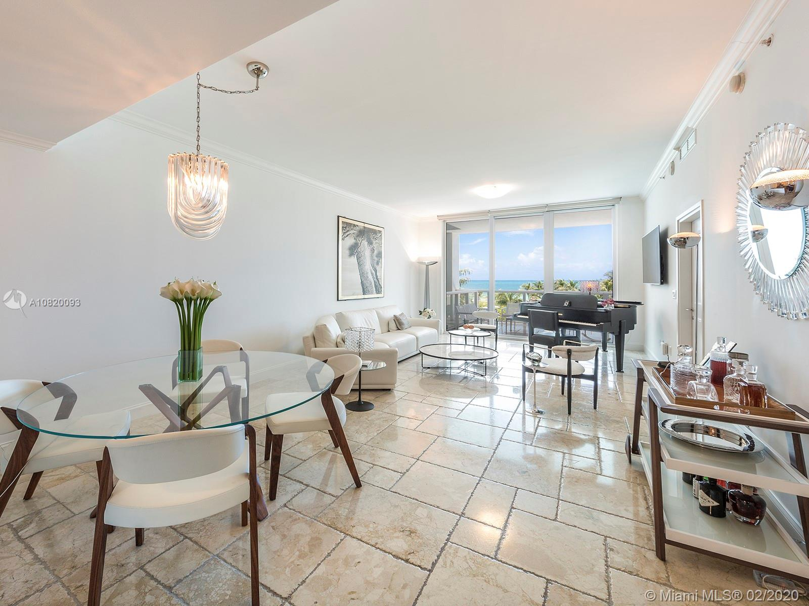 50 S Pointe Dr #603 For Sale A10820093, FL
