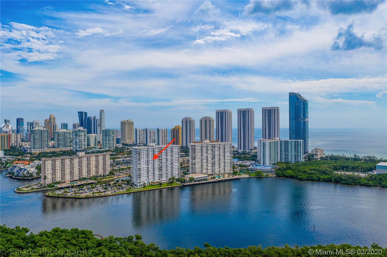 500  Bayview Dr #1021 For Sale A10820153, FL