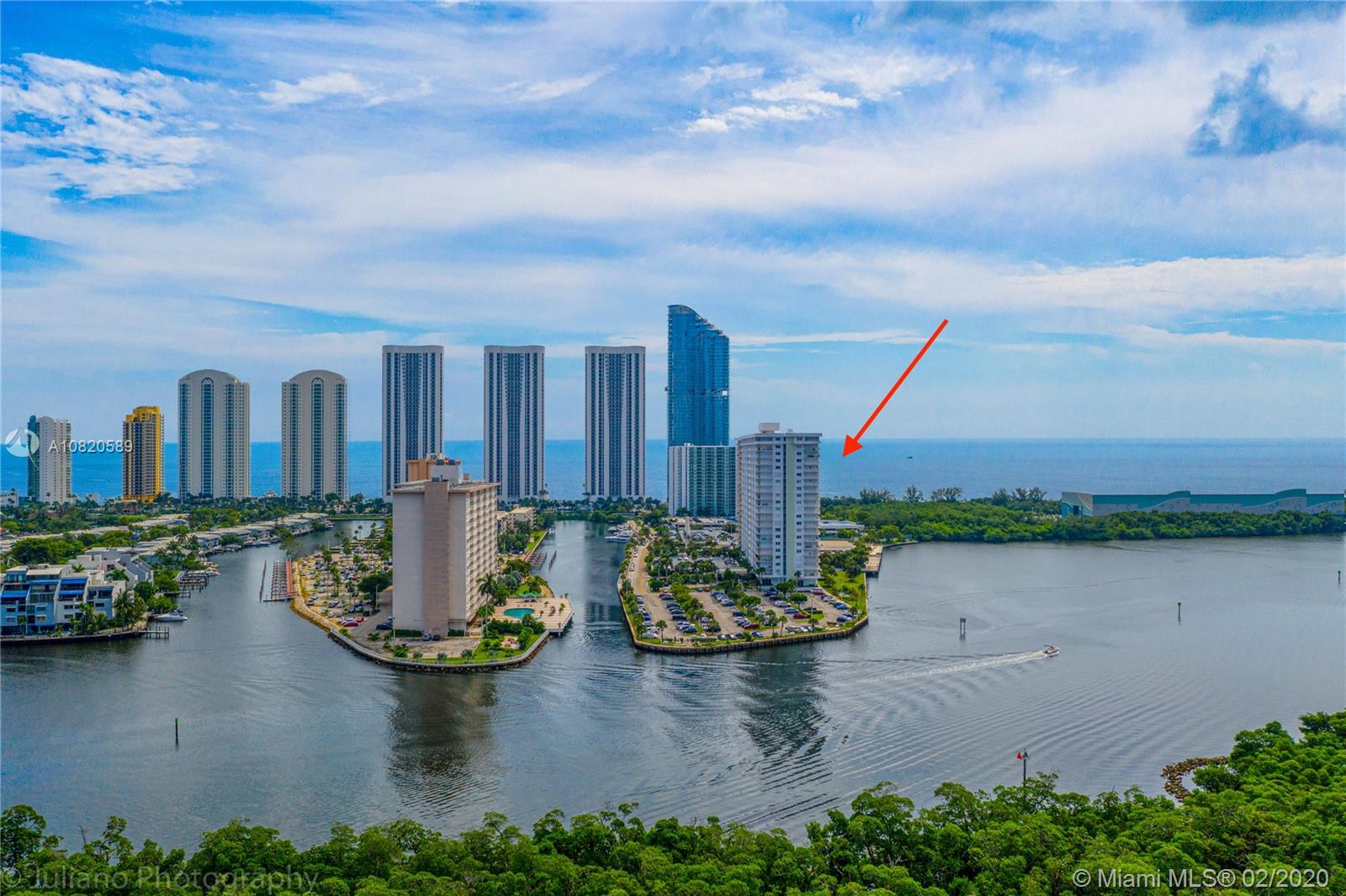 500  Bayview Dr #1520 For Sale A10820589, FL