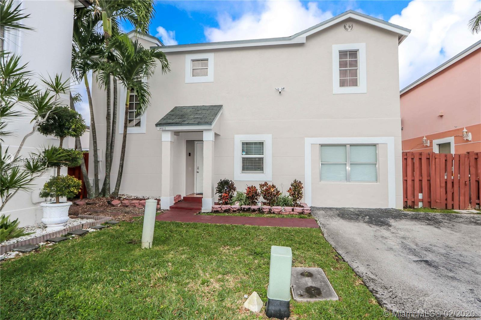 14812 SW 90th Ter  For Sale A10820800, FL