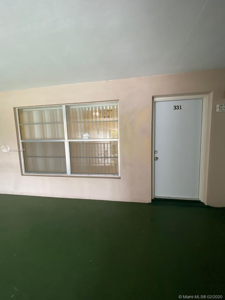 SUPER DEAL. Beautiful 1 bedroom 1.5 bath totally remodeled. New kitchen, new bathrooms, ceramic title, low HOA fee. Nice building in good condition, and new membrane on the roof assessment has been paid for. Located cross the street from the big club house and pool, club house has been remodel. Great location, access to main road, close to shops, airport and 15 minutes to the beach. Community offering: Heated pools, BBQ area, billiard and exercise room, shuffleboard, petanque, bingo, shows and much more. 1 occupant MUST BE 55 years old or older, Hurry at this price it won't last, your buyers will love it.anual income one person $ 20000 two persons $26000, credit score 700
