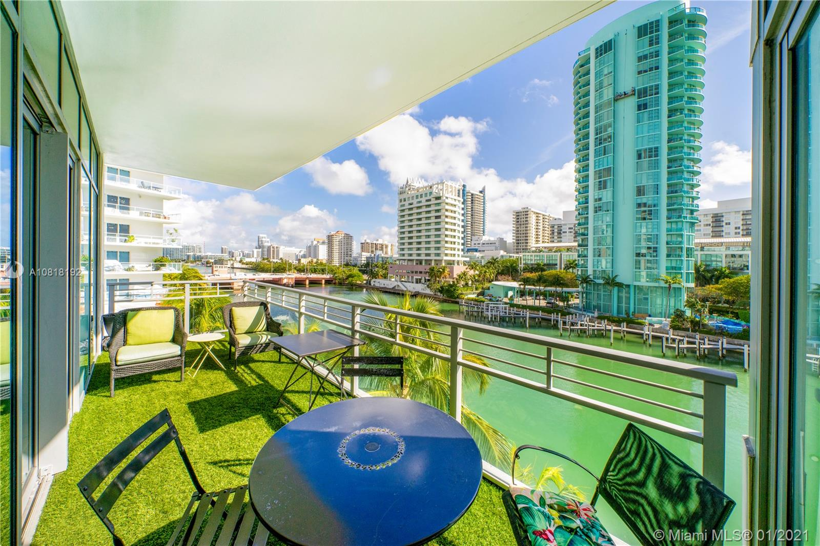 There's Miami Beach living, and then there is Allison Island private living. Chic luxury condo at the prestigious Gorlin Building in guard gated Aqua. The sizable 1,862-square-foot layout offers 3 spacious bedrooms, 3.5 bathrooms. The easterly views over the Intracoastal Waterway provide a relaxing water view & are best enjoyed from the residence's expansive balcony. Some of the benefits of living at Aqua include access to a business center, clubhouse, gym, two pools, and a concierge. The residence comes with 2 parking spaces, and the beach, as well as several area hotspots, are just a couple of blocks away.. Take advantage of private island living at a great price!