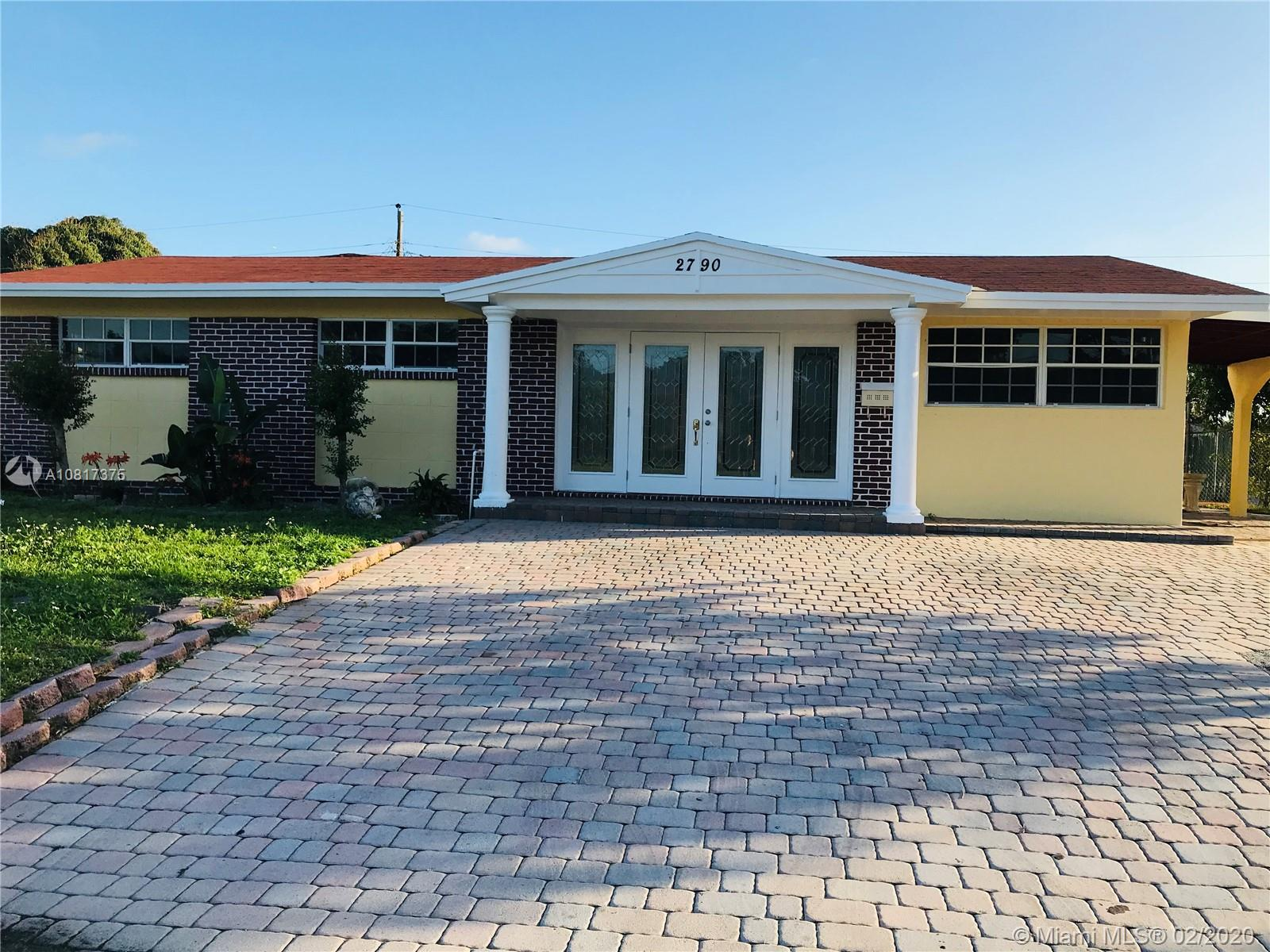 2790 SW 3rd Ct  For Sale A10817375, FL