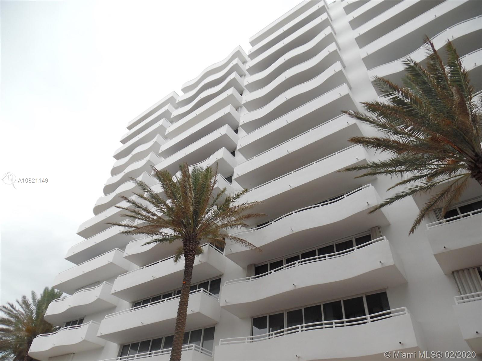 8911  Collins Ave #1102 For Sale A10821149, FL