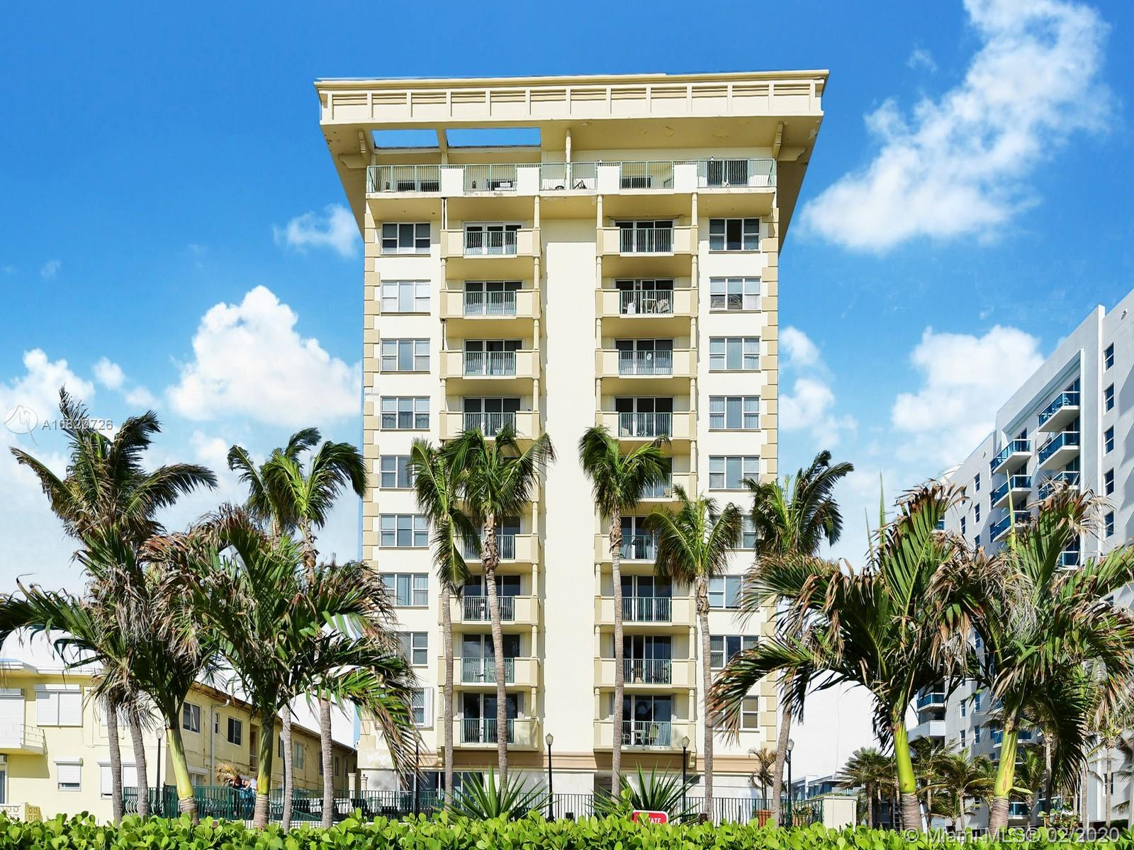 9195  Collins Ave #312 For Sale A10820726, FL