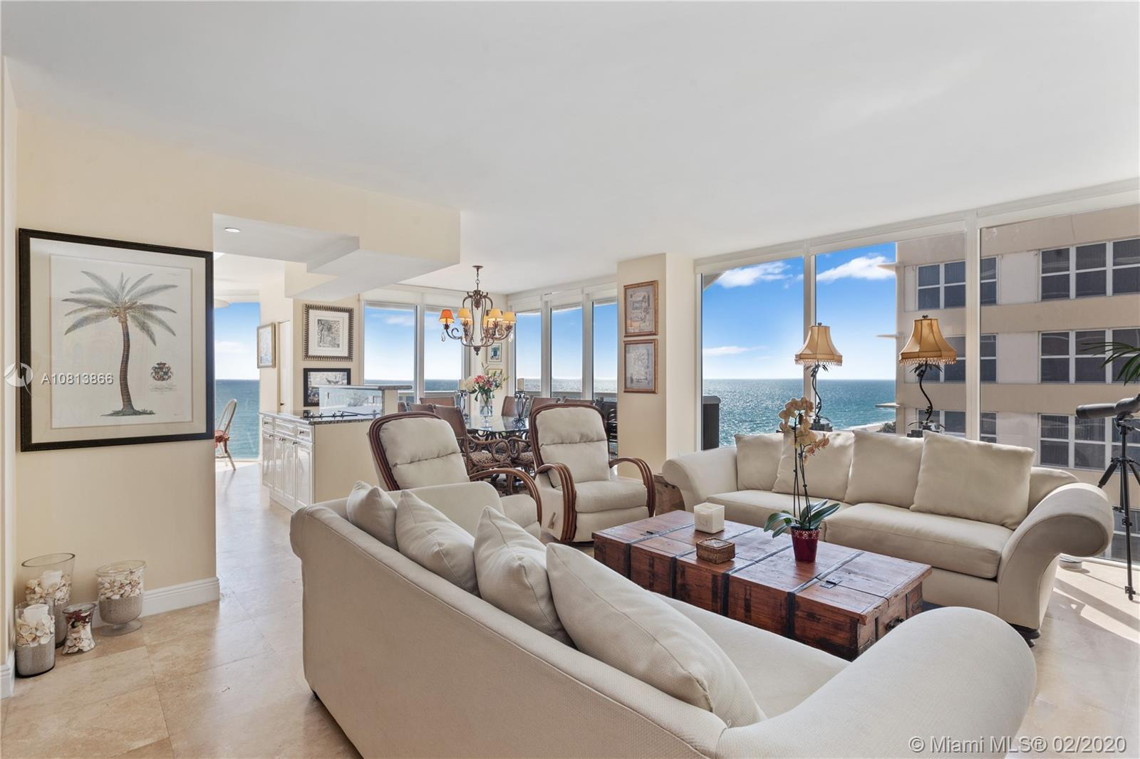 4775  Collins Ave #1203 For Sale A10813866, FL