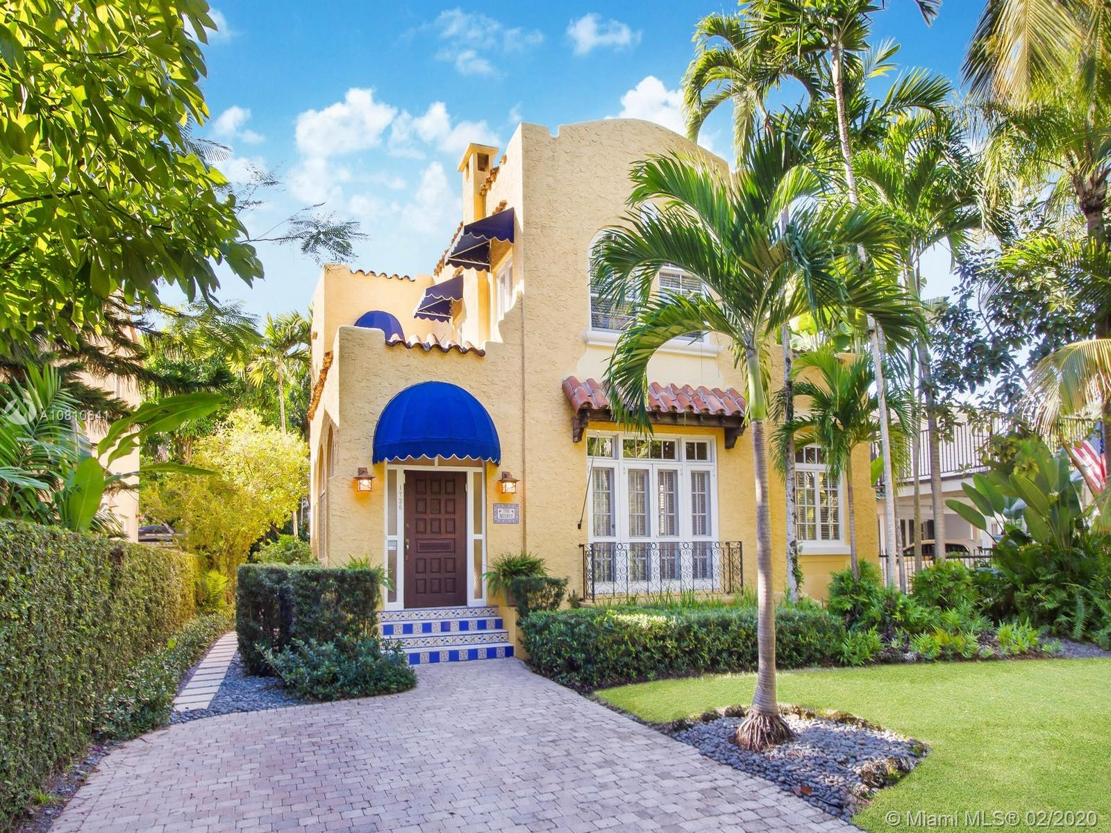 1726  Espanola Drive  For Sale A10810641, FL
