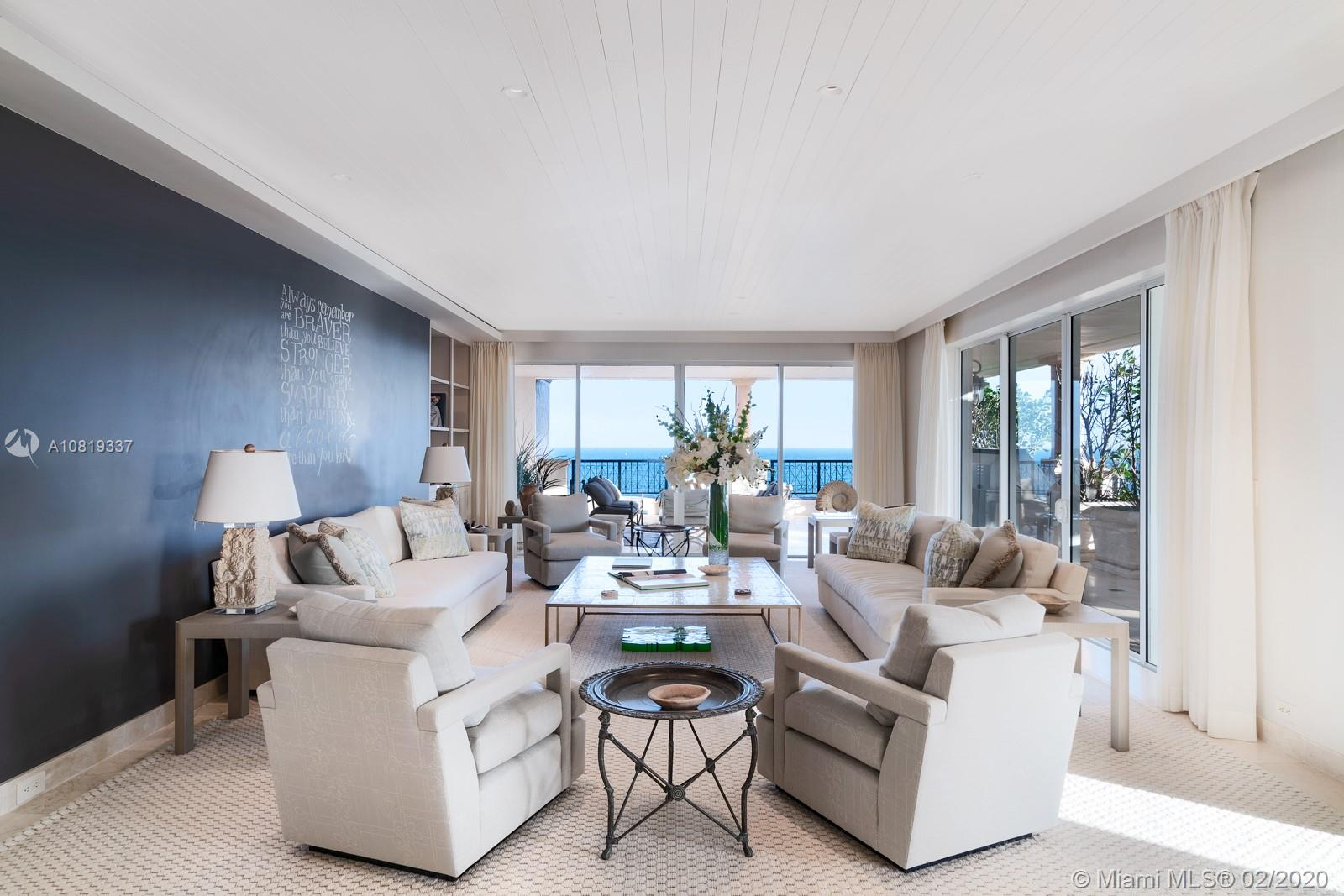 7600  Fisher Island Dr #7664 For Sale A10819337, FL