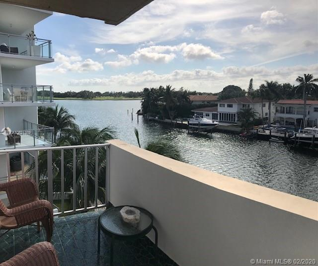 BREATHTAKING VIEW OF THE WATER & INDIAN CREEK ISLAND FROM THIS EXTRA LARGE 1 BED/1.5 BATH IN BEAUTIFUL BAY HARBOR ISLANDS! ONLY 12 UNITS IN THIS BOUTIQUE BUILDING AND ALL ARE FULL OF NATURAL LIGHT! ENJOY BEAUTIFUL SUNSET VIEWS. DON'T MISS THIS CHARMING UNIT! GREAT LOCATION! WALK TO SCHOOLS, BEACH, SHOPS. NEEDS A LITTLE TLC.