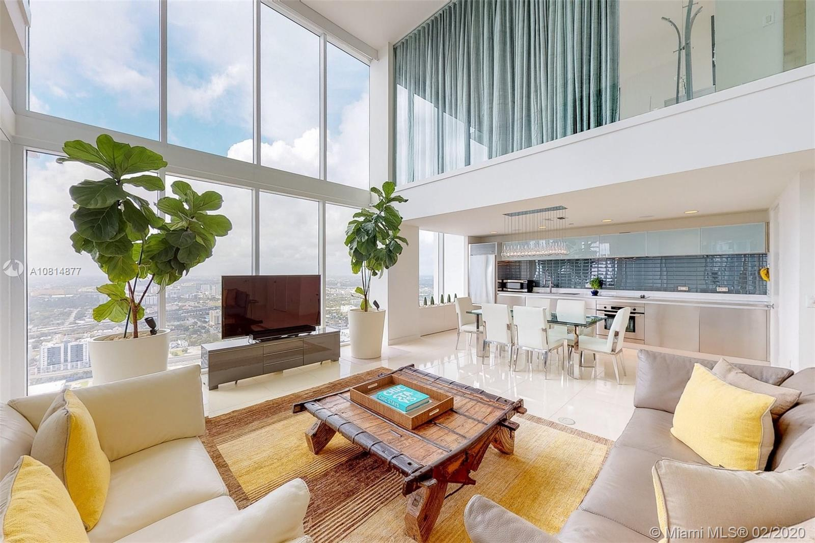 1040  Biscayne Blvd #PH4407 For Sale A10814877, FL