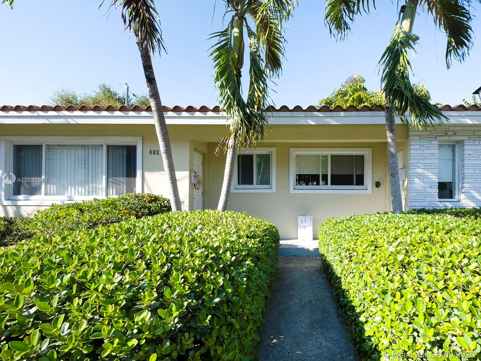 401  Alesio Ave  For Sale A10821543, FL