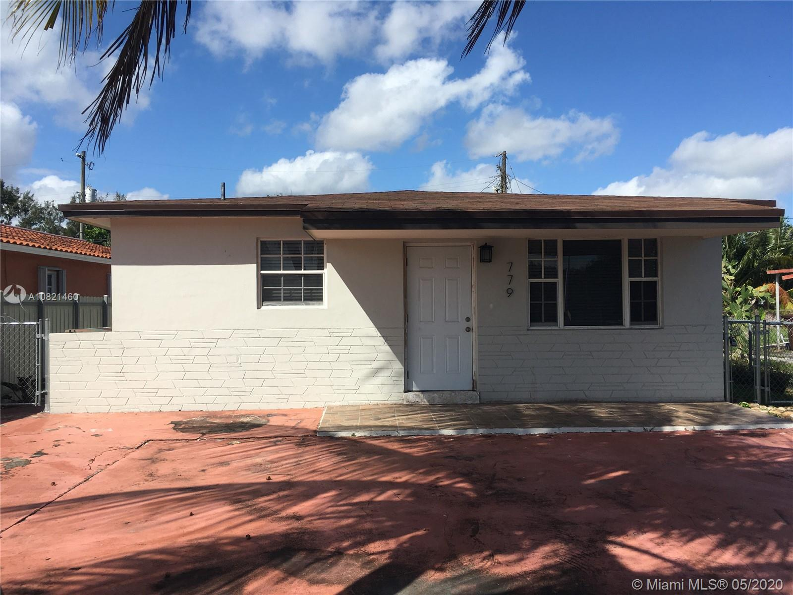 779 E 20th St  For Sale A10821460, FL