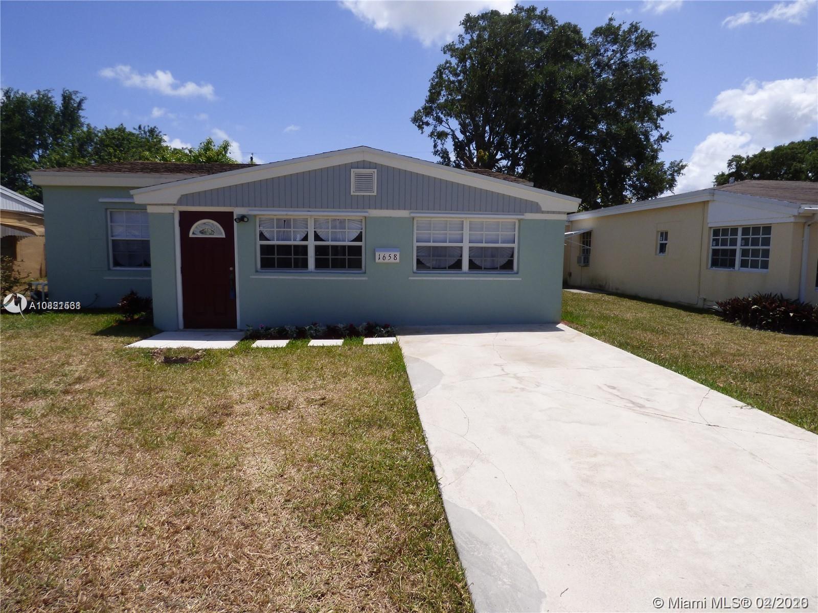 1658 NE 175th St  For Sale A10821568, FL
