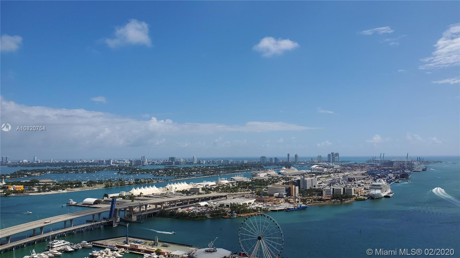 244  Biscayne Blvd #3803 For Sale A10820754, FL