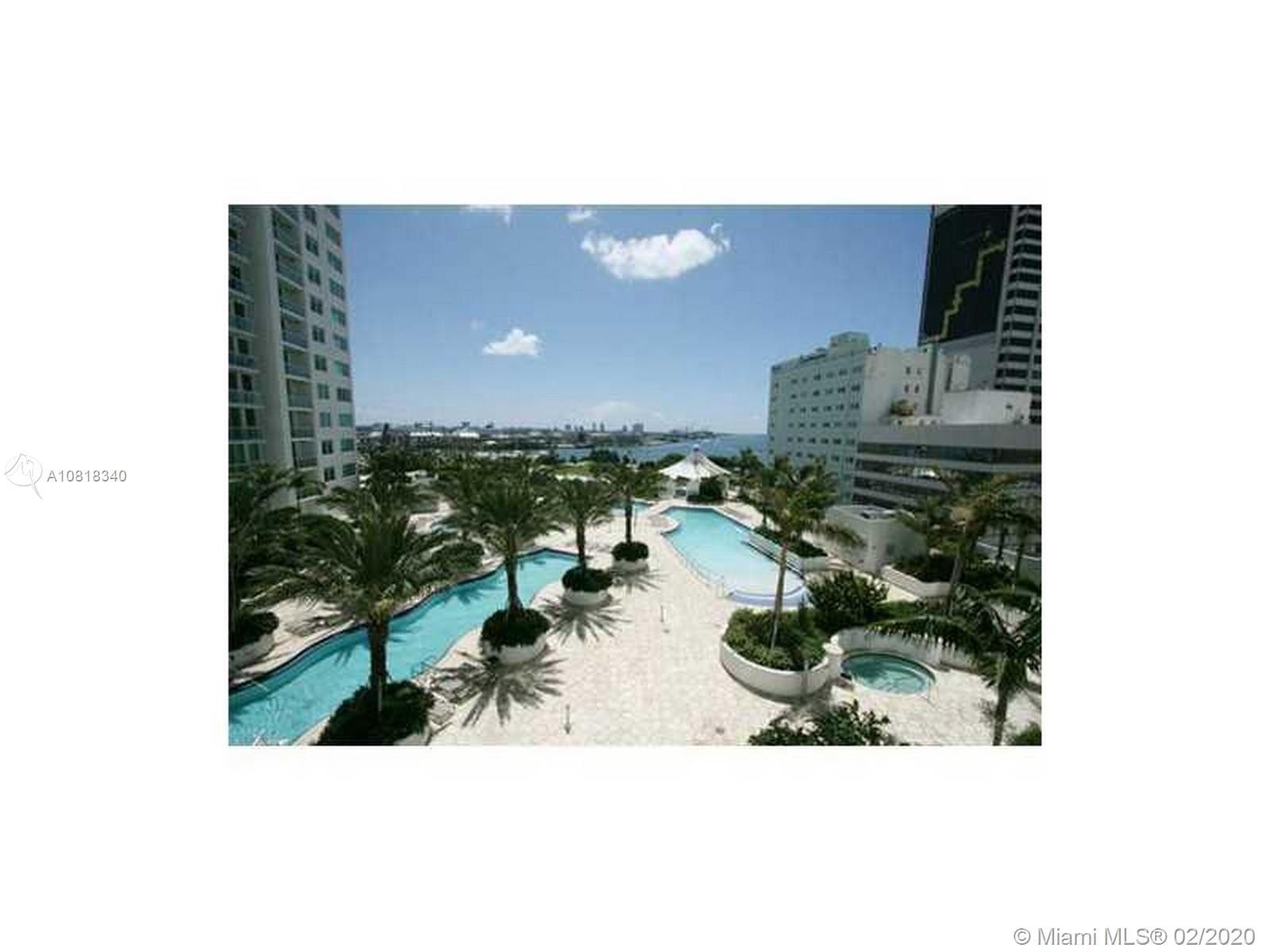 Great opportunity to own a beautiful, modern Studio with Polished Concrete Floors, Granite Counter Tops, Stainless Steel Appliances and 5 Star Amenities. plus STORAGE. The heart of Downtown Miami, this building offers 3 pools overlooking the bay, fitness center, SPA, Sauna, Steam Room, 24 Hour Concierge and Valet. Bring your Best Offer!