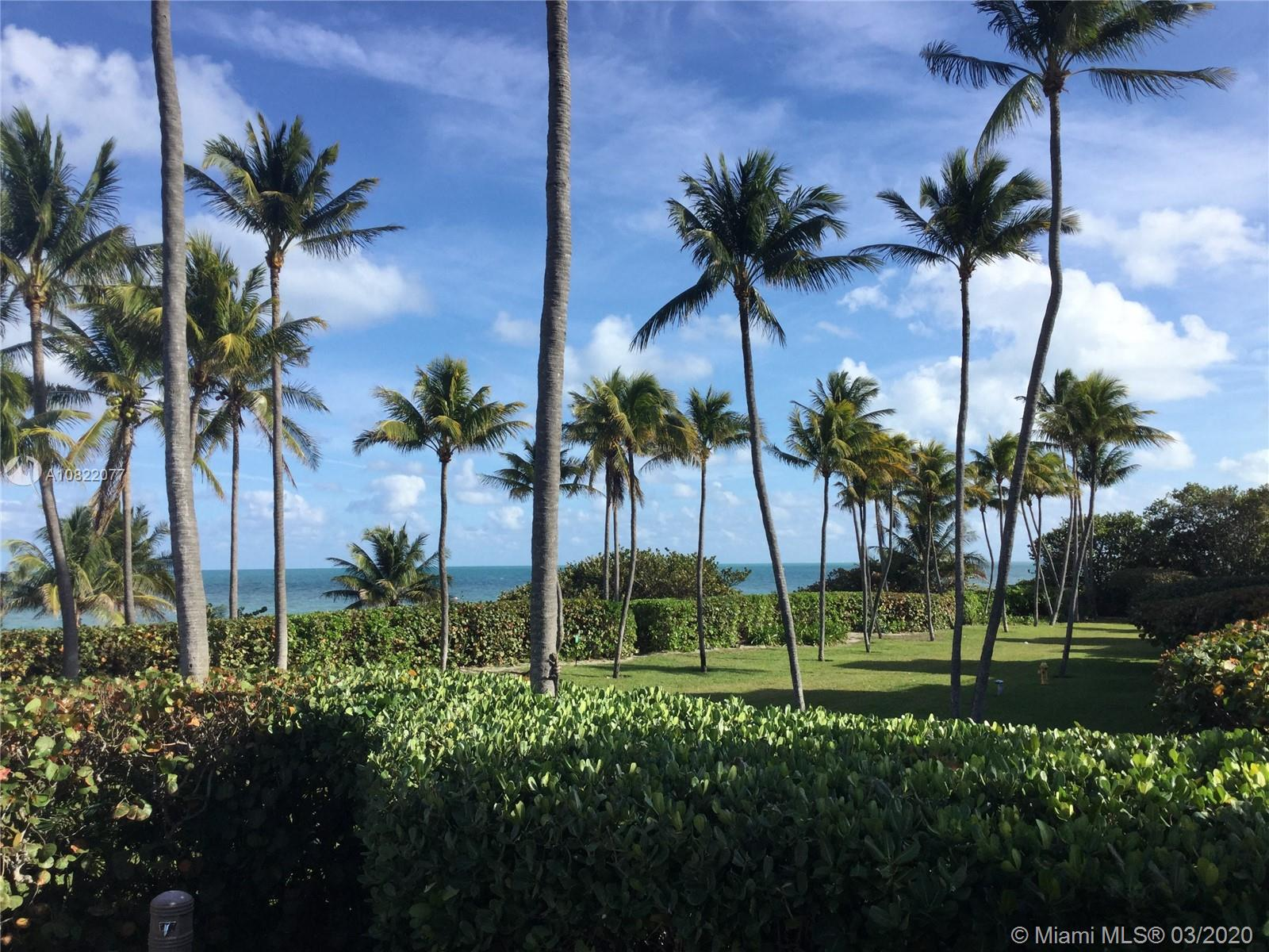 Don't miss this amazing opportunity to own a spacious 2/2 unit at Key Colony Oceanfront Complex. Enjoy relaxing by the beach, 24-hour security, front desk service, ocean front & lap pools, gym, tennis courts, children's playground, beauty salon, and high-end convenience store. Walking distance to parks, shopping, restaurants and art galleries. Key Biscayne is a paradise island only a causeway apart from Miami surrounded by first-class golf, sandy beaches, water sports and great schools. This unit is offered at the lowest  2/2 unit in the building with motivated Seller! Call or text listing agent for showing and more details.