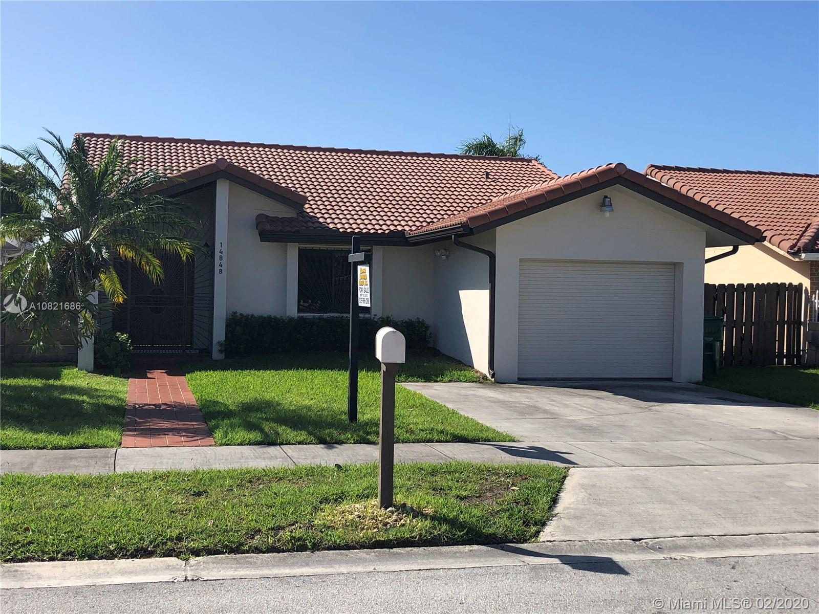 14848 SW 60th St  For Sale A10821686, FL