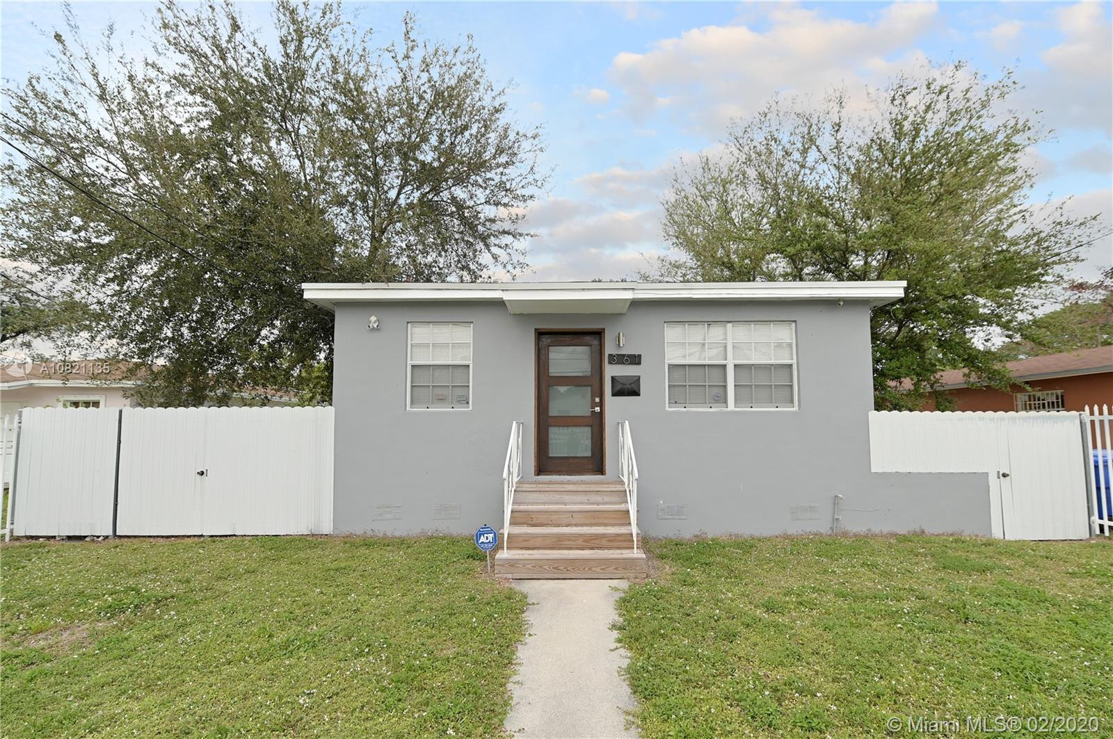 361 NW 50th St  For Sale A10821135, FL