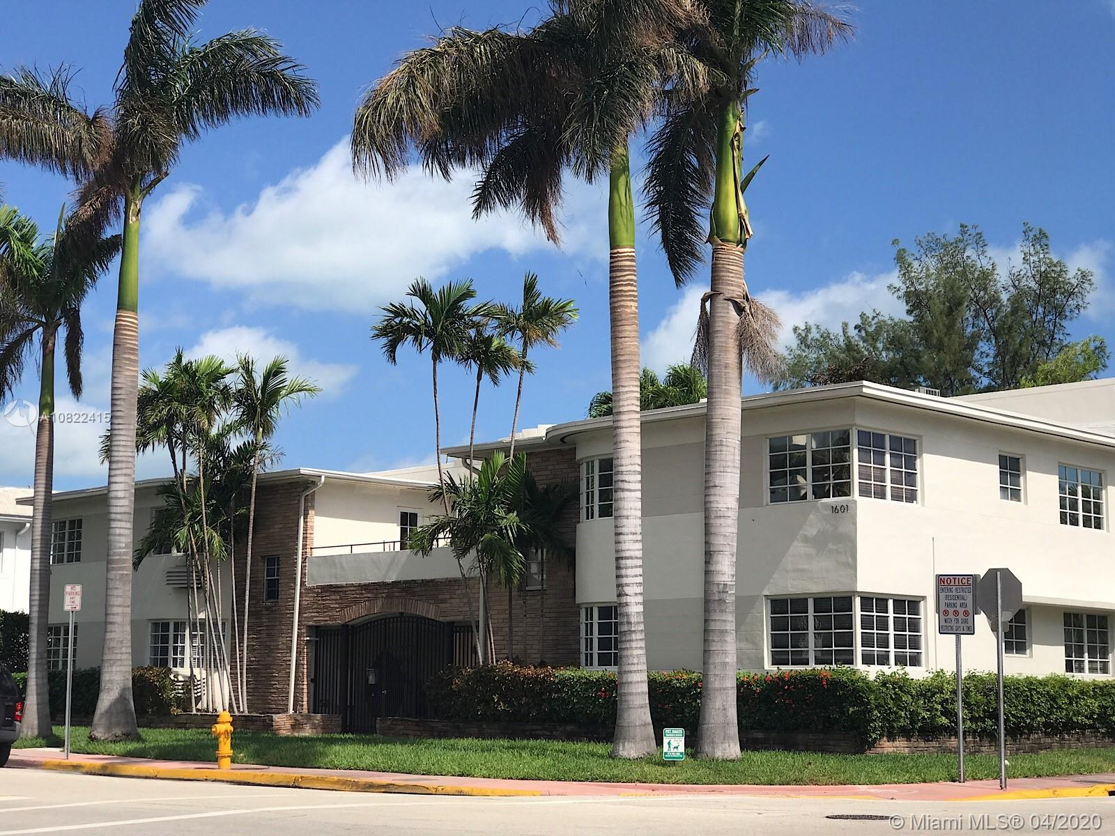 1601  Lenox Ave #1601-7 For Sale A10822415, FL