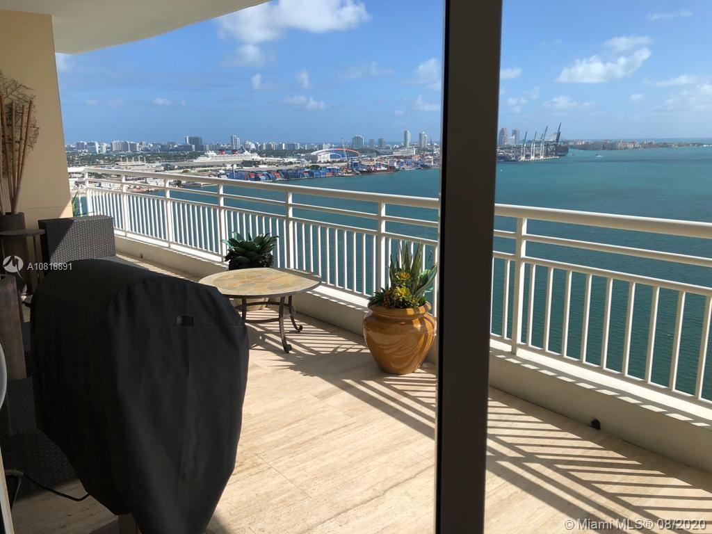 An exclusive island lifestyle within the heart of Miami. When you enter in the world of Tequesta Point the world outside disappear. Only eight residences per floor, with one service elevator and two passenger elevators designated to serve four residents in each wing. A magnificent array of residential features enhances your every day living pleasure while adding enduring value. no detail wqas missing in the spectacular renovation of this residence. Double entry solid doors. PANORAMIC VIEWS. But those are only details comparing to the extent work done. Spectacular open kitchen, Extremely well designed arranges in the bedrooms and bathrooms. Master bath is IMPRESSIVE!