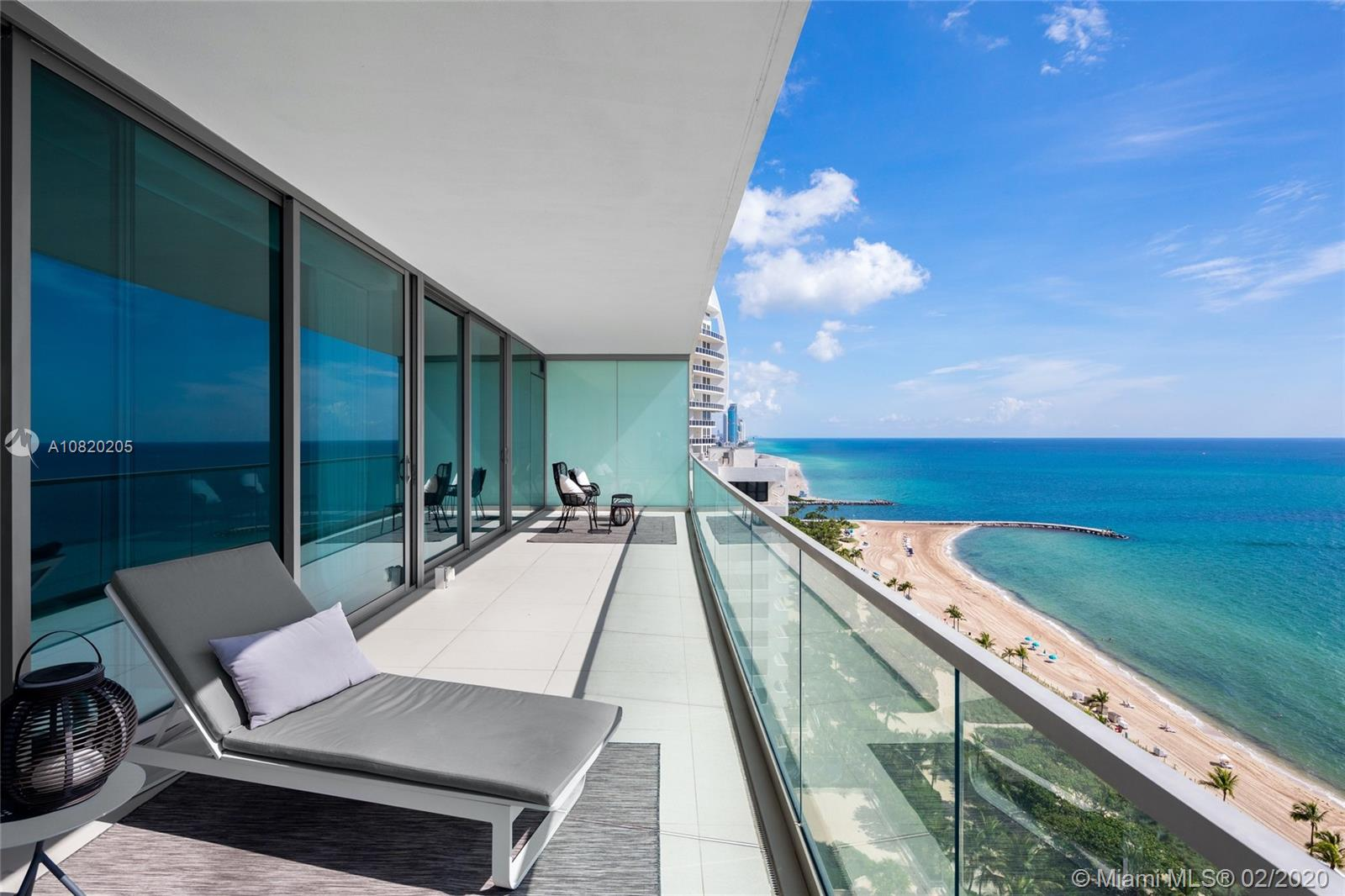 Spectacular flow-through oceanfront residence in the prestigious Oceana Bal Harbour. Fully renovated with over 3,450 Sq Ft. Unobstructed ocean and city views. Oceana features concierge service, residents only Starr catering restaurant, spa, and fitness center, tennis courts, theatre, play area, pool and beach service with over 400 feet of ocean frontage and more. At 3,450 SF, with 3bed/4.5 Bath + Maiden Room