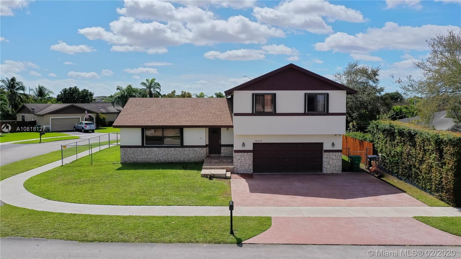 16510 SW 298 Ter  For Sale A10818127, FL