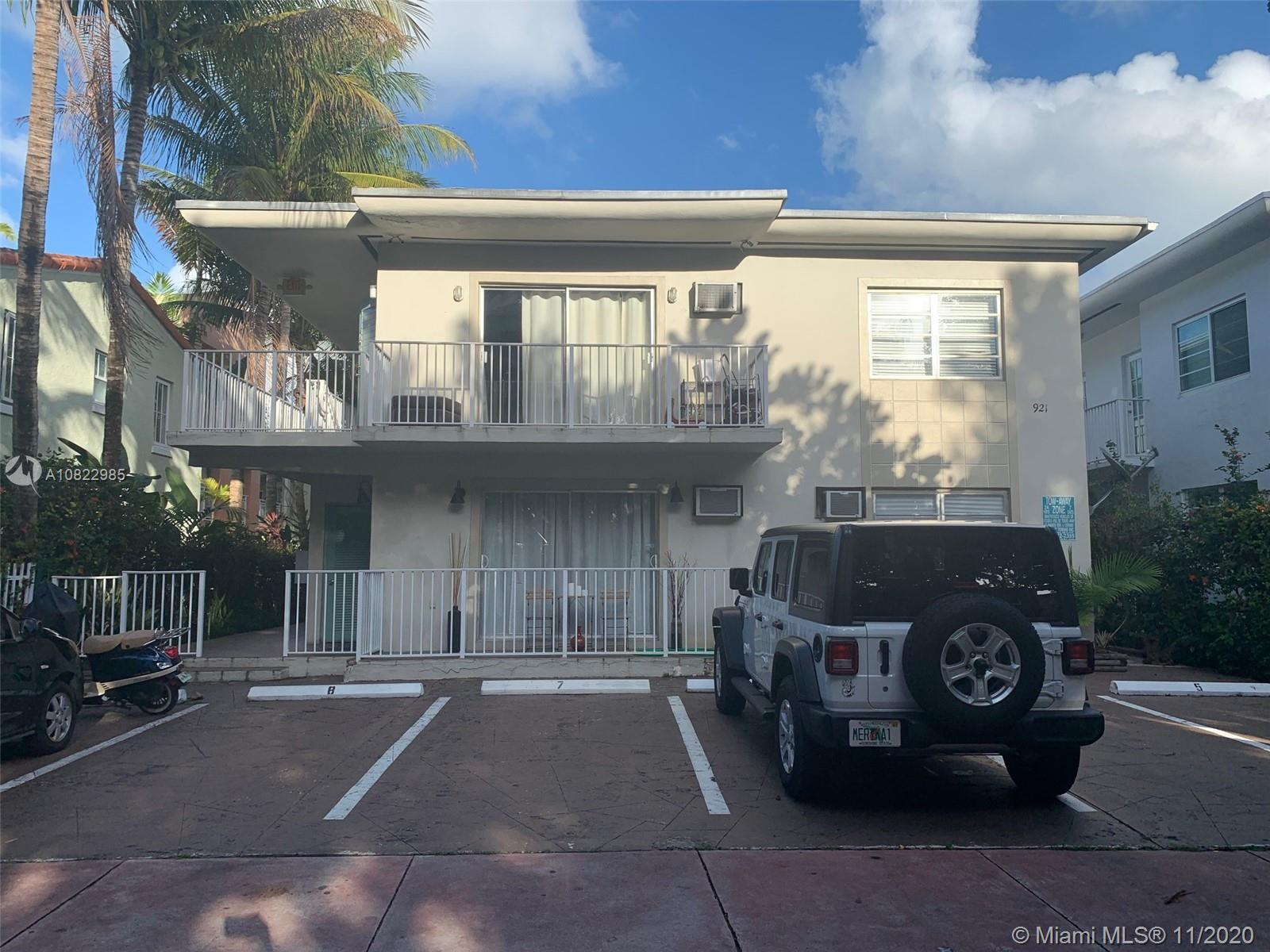 921  Meridian Ave #7 For Sale A10822985, FL