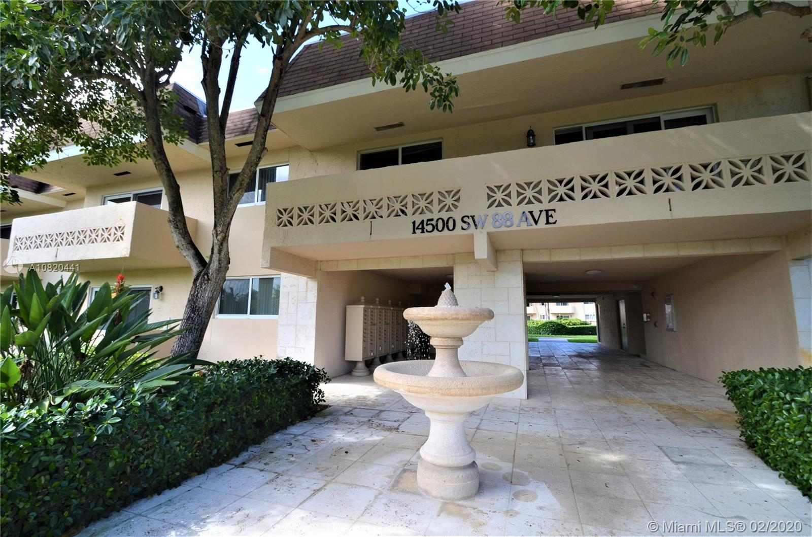 14500 SW 88th Ave #128 For Sale A10820441, FL